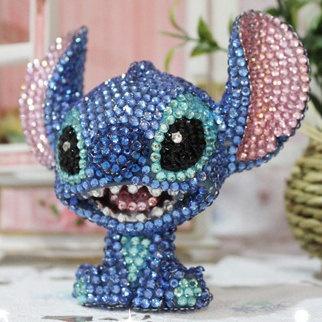 Stitch, it's so cute! :)