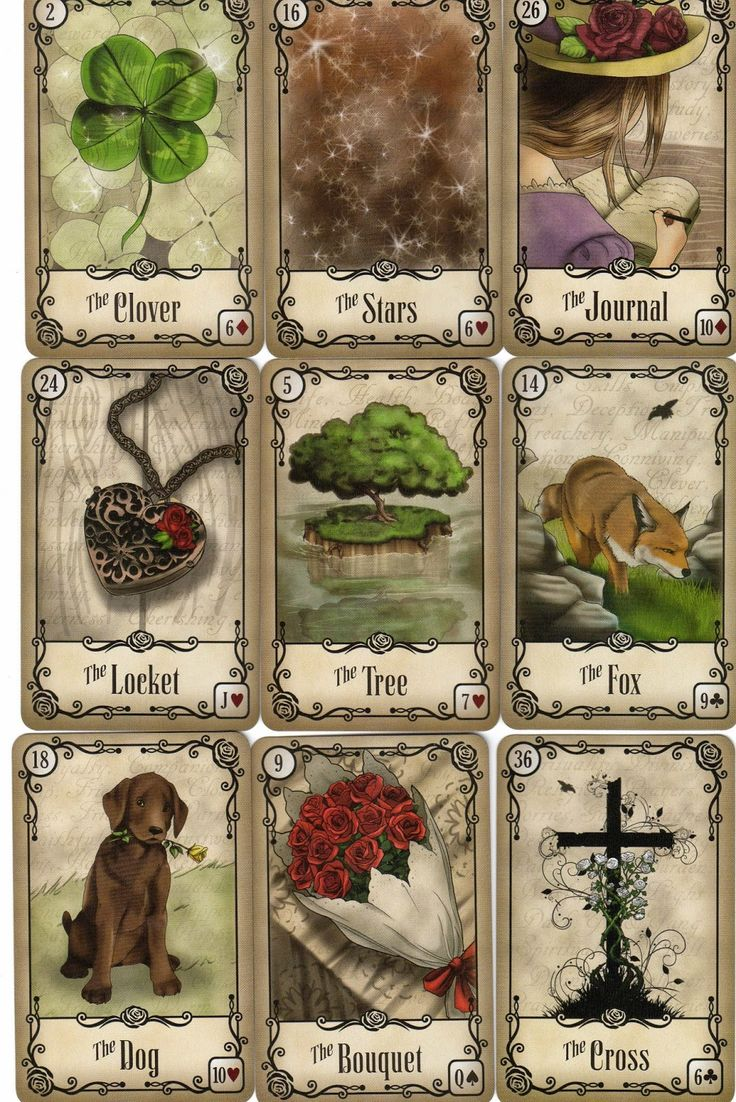 Tarot Oracles And Other Signs Along The: 510 Best Lenormand Images On Pinterest