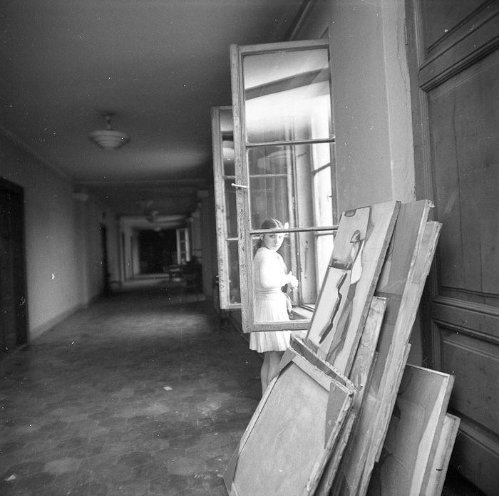 Pracownia Tadeusza Kantora, Kraków, 1969 - Archiwum Eustachego Kossakowskiego - Muzeum Sztuki Nowoczesnej w Warszawie