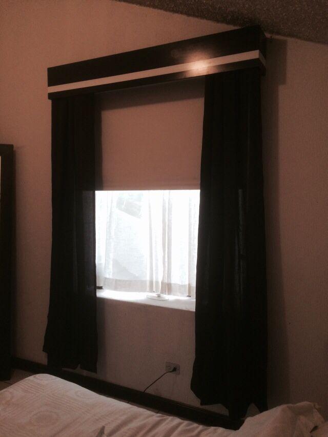 Black out, cortinas y cenefa....