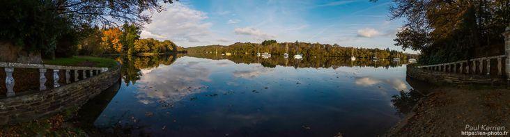novembre 2017 | panorama en 12 photos au Pérennou, sur la rive de L'Odet  - à Plomelin © Paul Kerrien https://en-photo.fr Finistère Bretagne MyFinistere