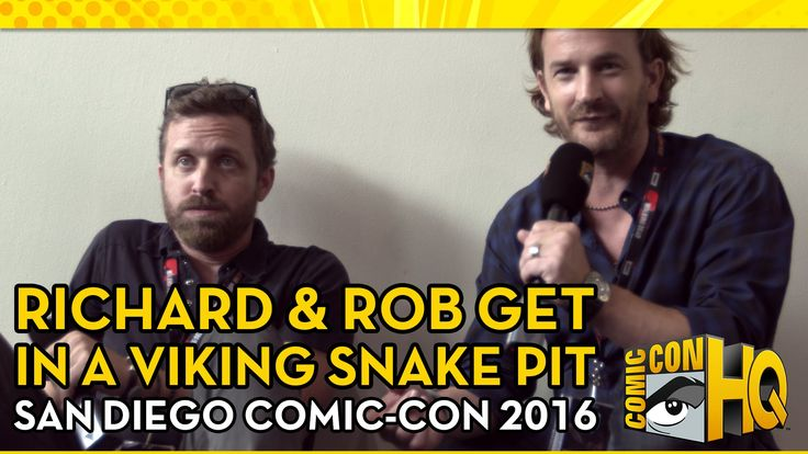 Richard Speight Jr. & Rob Benedict Get Into a Snake Pit from Vikings | C...                                                                                                                                                     More