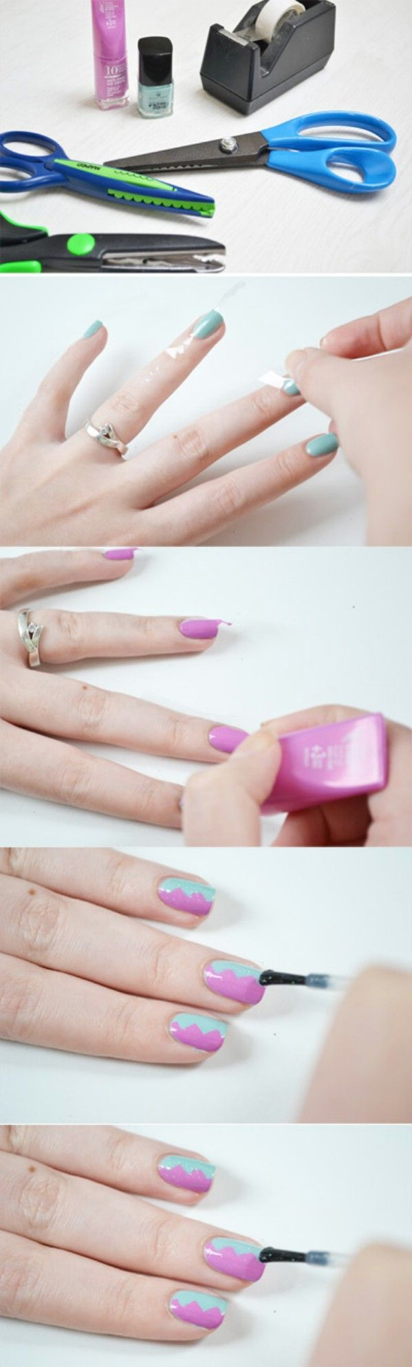 966 best Nails an toenails images on Pinterest | Nail scissors, Cute ...