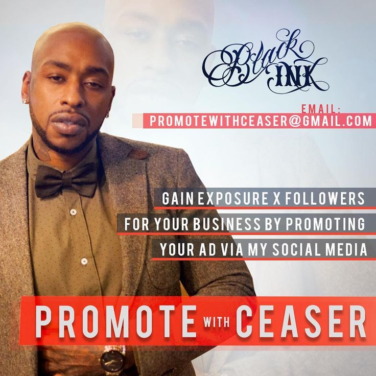 Promote Your #Business Via My Social Media. Email PromoteWithCeaser@gmail.com or DM for Rates!  #Promo #advertisement #Promote #PromotewithCeaser #entrepreneur #promotion #followers #follow #followers #Kimkardashian #nickiminaj #jayz #beyonce #beyhive #drake #future #kanyewest #blackink #blackinkcrew #celebrity #celebrities #donaldtrump #rihanna #taylorswift #blacchyna #hillaryclinton #michelleobama #barackobama http://tipsrazzi.com/ipost/1523250420612657995/?code=BUjrC_glPNL