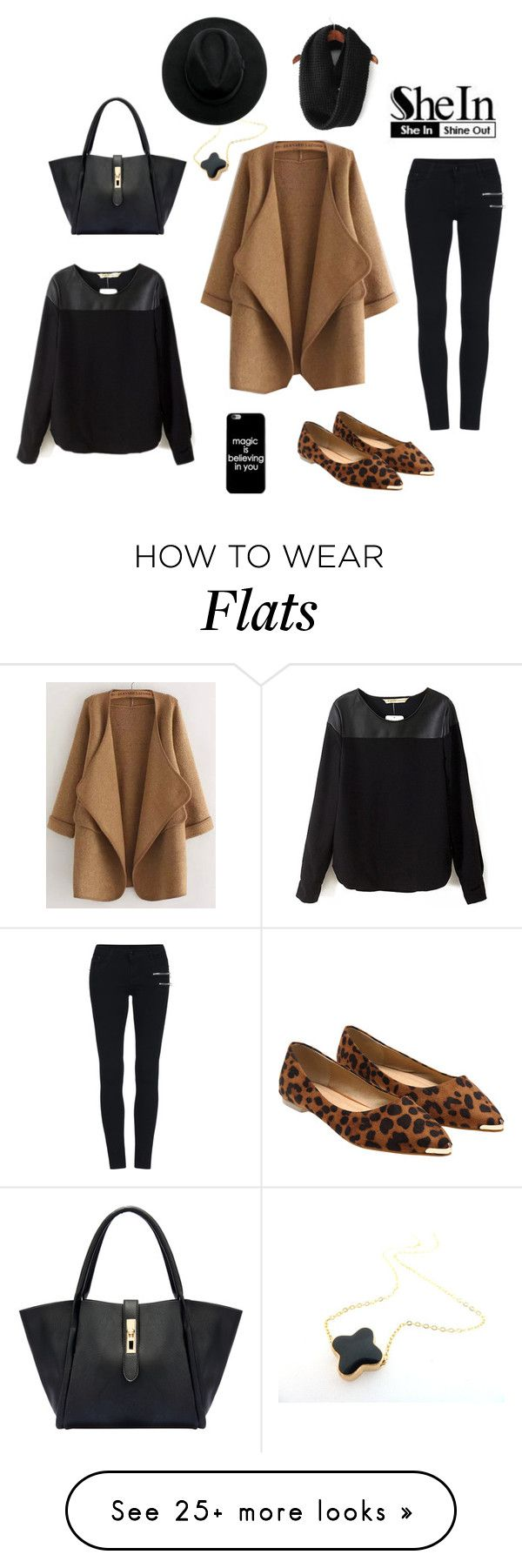 """Shein Contest Loose Cardigan"" by by-jwp on Polyvore"