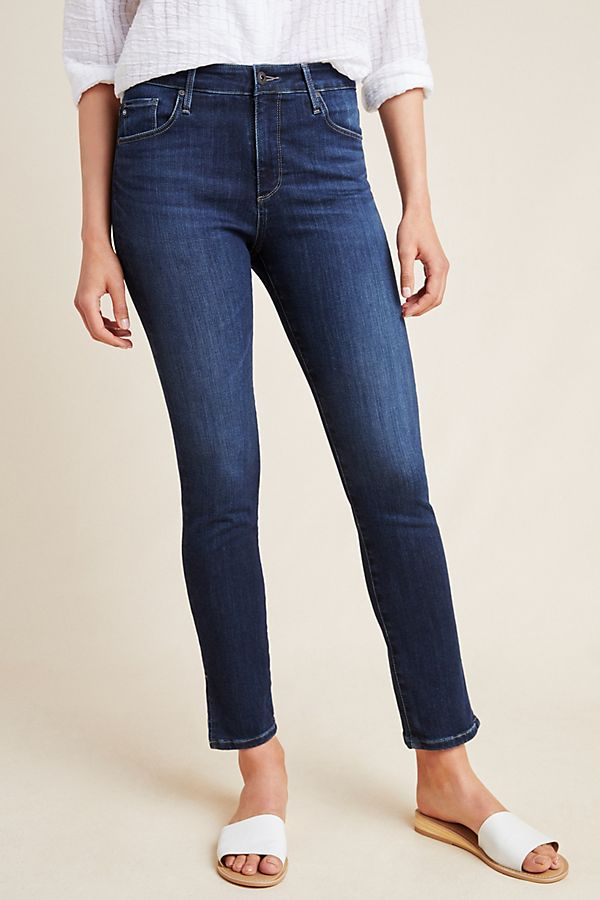 95eb6c137b3e AG The Stevie High-Rise Skinny Ankle Jeans in 2019 | NEW STEEZ