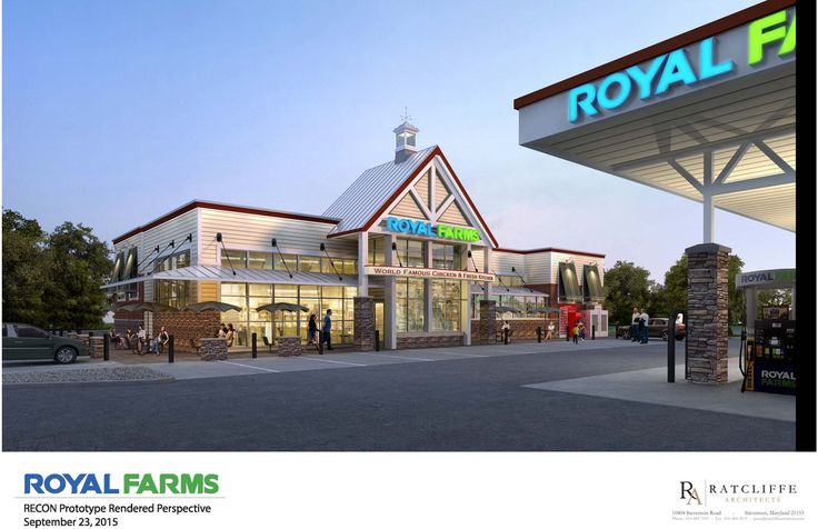 Royal Farms has signed a long-term lease for a 3.7-acre stand-alone pad and is expected to start operations in late-2018.