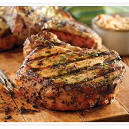 Grilled Pork Chops with Basil-Garlic Rub | Recipe | Wine pairings, To ...