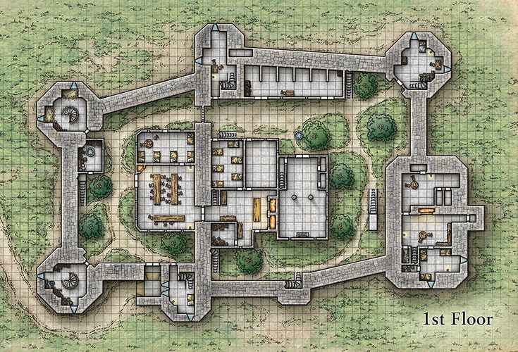My hi-res downloadable maps for No Quarter Magazine are ready! The Town of…