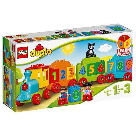Buy LEGO DUPLO 10847 Number Train Online at johnlewis.com