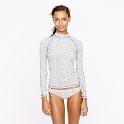 ✈ Liberty Rash Guard in Amy Hurrel Floral from J. Crew. ✈