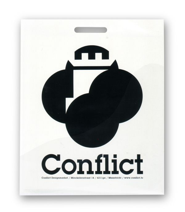 boy bastiaens | conflict | shopping bag