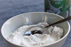 Kokosová šlehačka / Coconut cream/ Bezlepkový a nízkosacharidový zdravý recept / Gluten free and low carb healthy recipe/