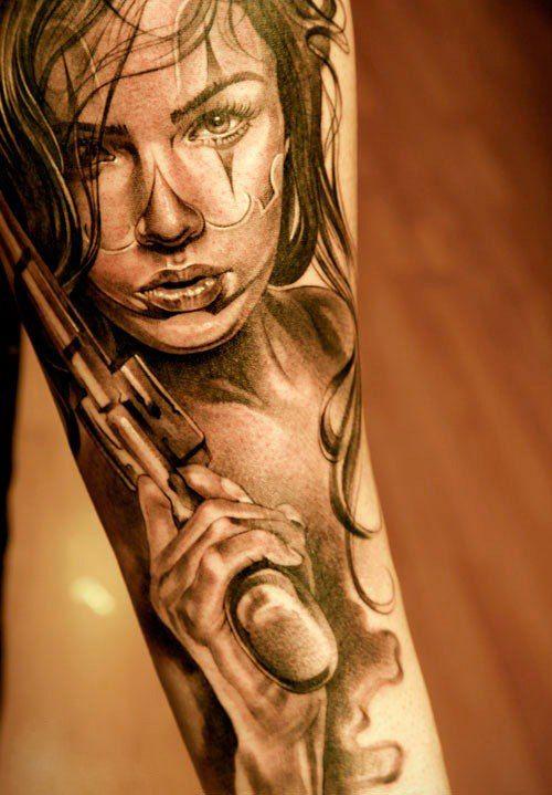Татуировки в стиле чикано, значения, фото и эскизы
