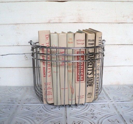 Vintage Decorative Book Bundle