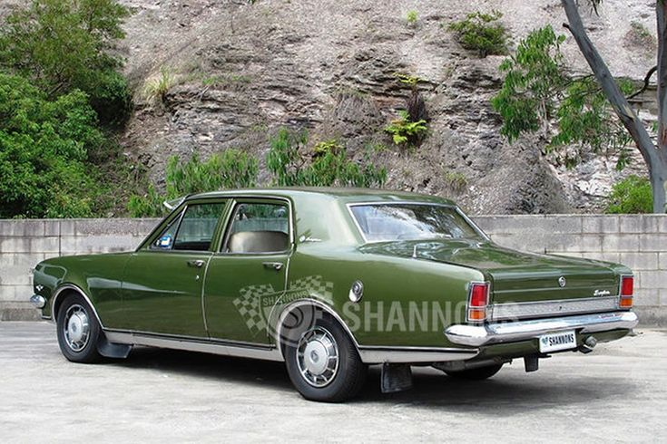 Holden HT Brougham Sedan