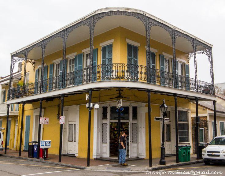 New Orleans, LA. Photo: Sampo Axelsson. #neworleans #louisiana #building #architecture #sampo