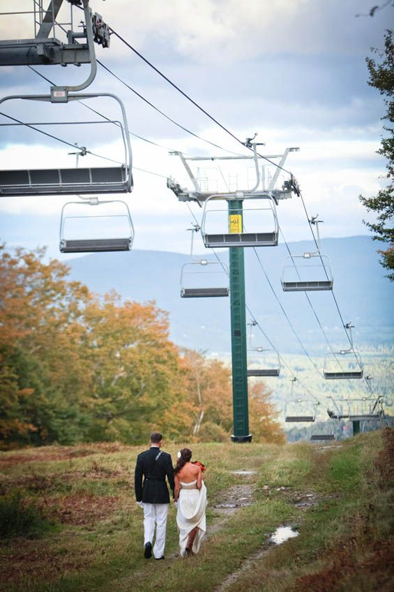 Gorgeous Ski Resort Wedding Photo Granite Peak Wausau Would Be Equally Beautiful In Transit To Your Fairfield Hotel Venue