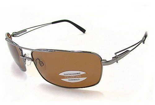 Serengeti Dante 7113 Sunglasses Shiny Gunmetal Polarized Shades Serengeti. $159.95
