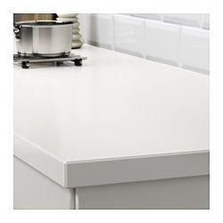 IKEA - OXSTEN, Maatwerkblad, 63.6-125x3.8 cm, , Gratis 25 jaar garantie. Raadpleeg onze folder voor de garantievoorwaarden.Het werkblad wordt op maat gemaakt voor je keuken. Kies een passende diepte (10-125 cm) en lengte (max. 3 m zonder naden).Het werkblad heeft een uit één geheel gegoten toplaag van steenmeel, voor een poriënvrij en vlak werkvlak dat makkelijk schoon te houden is.Alle kwartskleuren kunnen worden besteld met een rand van kwarts in dezelfde kleur of met een kantlijst van…
