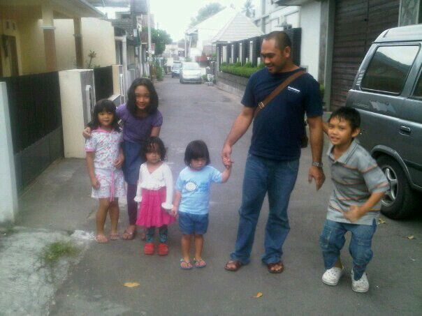 When a was went to Jogja.