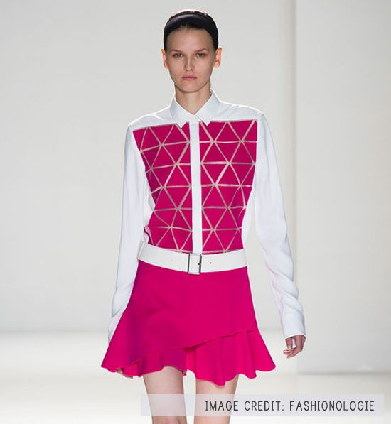 Victoria-Beckham-Spring-2014-inspiration for knock-off shirt
