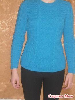 Пуловер Gelsomina от Бруклин Твид. - Вяжем вместе он-лайн - Страна Мам