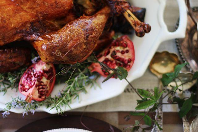dry-brine turkey.