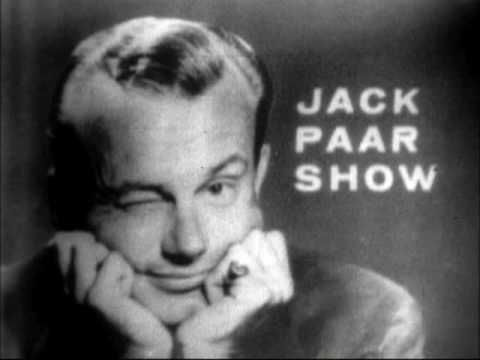 Jack paar, the first host of the tonight show