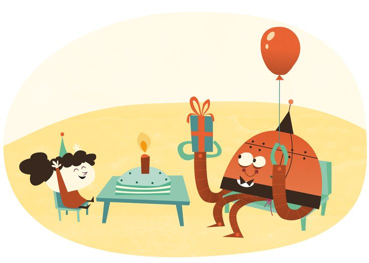 Birthday celebration with Robbie, the robot © Amir Abou-Roumié