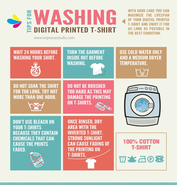 Tricks on How to Care for Your Printed T-Shirts
