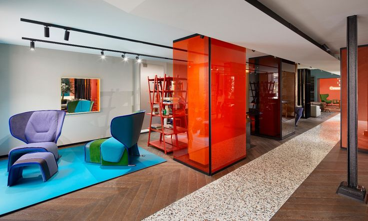 Cassina Showroom Paris Rive Droite by Patricia Urquiola
