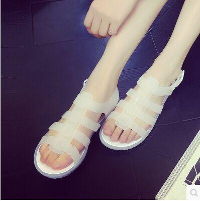 $15.00 (Buy here: https://alitems.com/g/1e8d114494ebda23ff8b16525dc3e8/?i=5&ulp=https%3A%2F%2Fwww.aliexpress.com%2Fitem%2FShoes-Woman-2016-Summer-New-Women-Flat-Sandals-Plastic-Jelly-shoes-Rain-Shoes-Flats-Roman-sandals%2F32606452734.html ) Shoes Woman 2016 Summer New Women Flat Sandals Plastic Jelly shoes Rain Shoes Flats Roman sandals studentsb Non-Slipb Portable for just $15.00