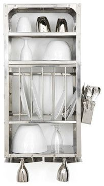 Kitchen Rack, Small - industrial - dish racks - other metro - Tsé & Tséhttp://www.houzz.com/photos/10813807/Kitchen-Rack--Small-industrial-dish-racks-other-metro
