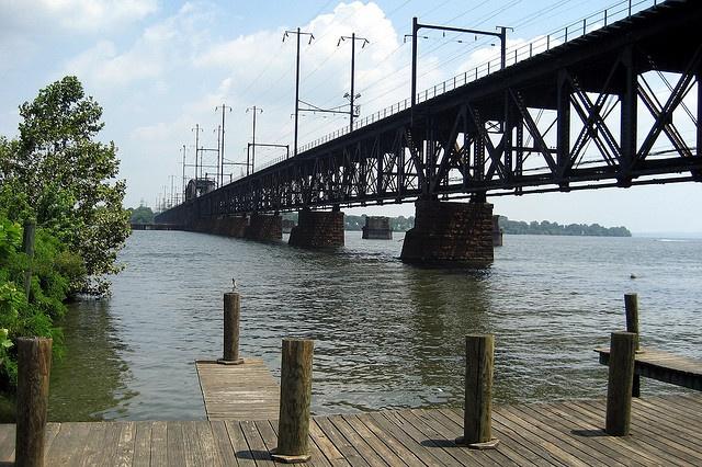 Maryland - Havre de Grace: Amtrak Susquehanna River Bridge by wallyg, via Flickr