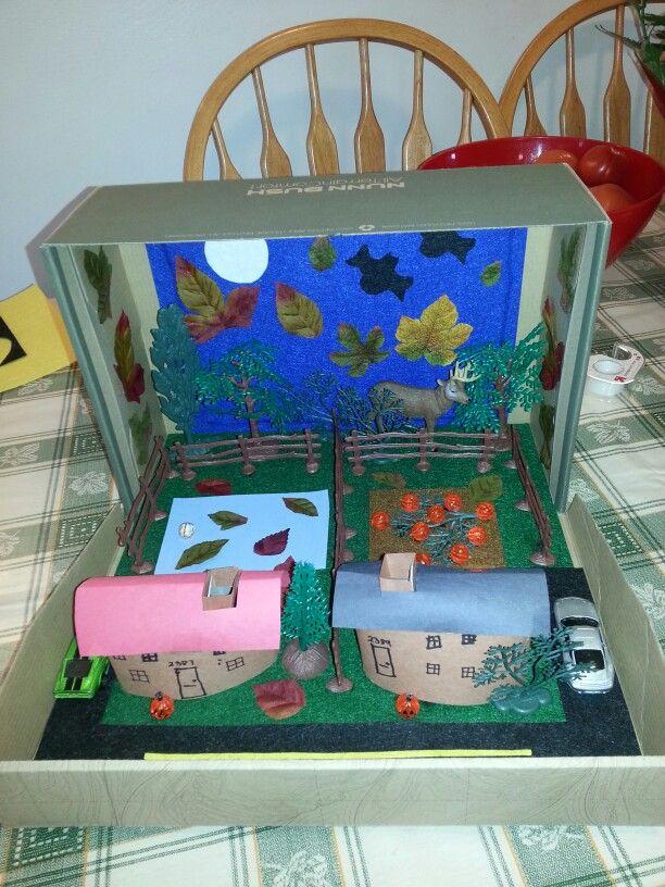 Suburban Community Diorama School Projects Pinterest