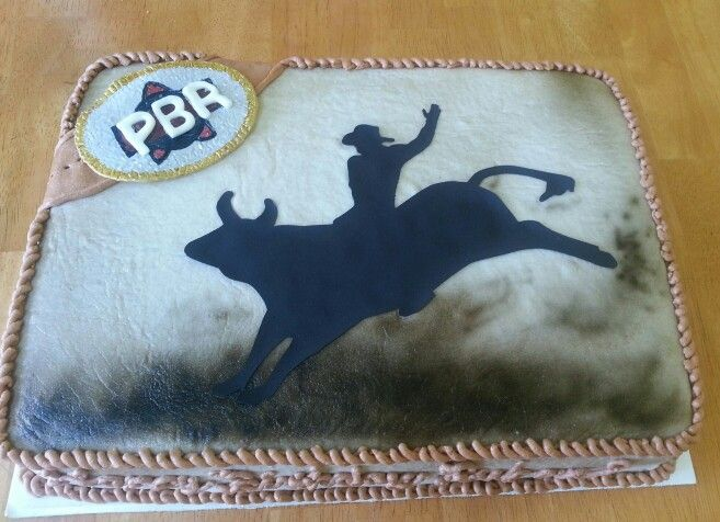 Rodeo Bull Riding Cake Cakes I Ve Made Pinterest