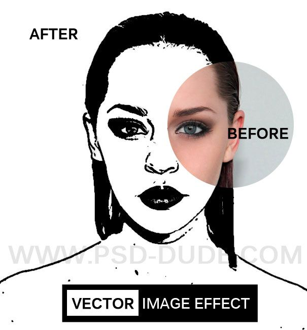 Image to Vector in Photoshop - Photoshop tutorial | PSDDude