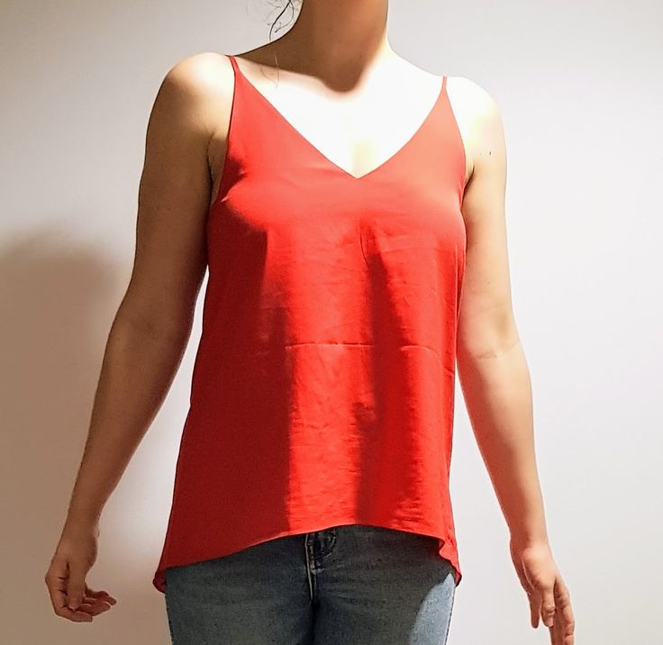 Red Singlet $20 Size 10 (too lazy to iron... oops!)