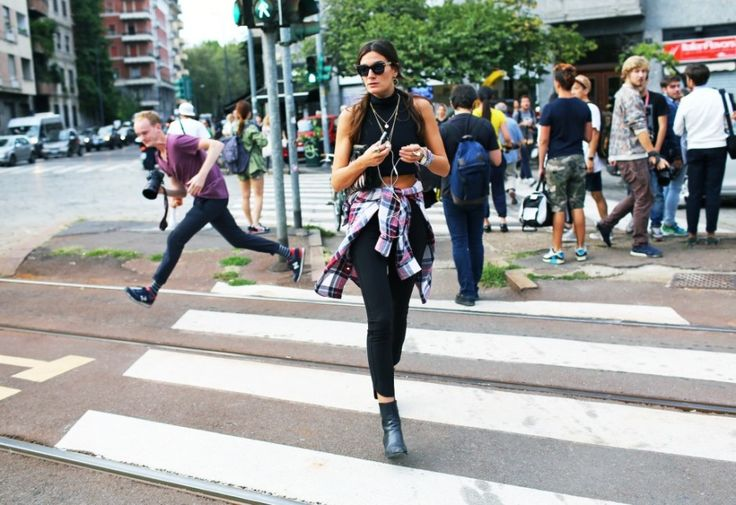 Street Style: Milan Fashion Week Spring 2015 – Vogue