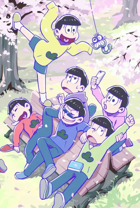 I love that they added the little worm from Osomatsu-kun!