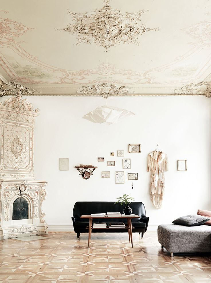 A home in Malmö | #white #baroque