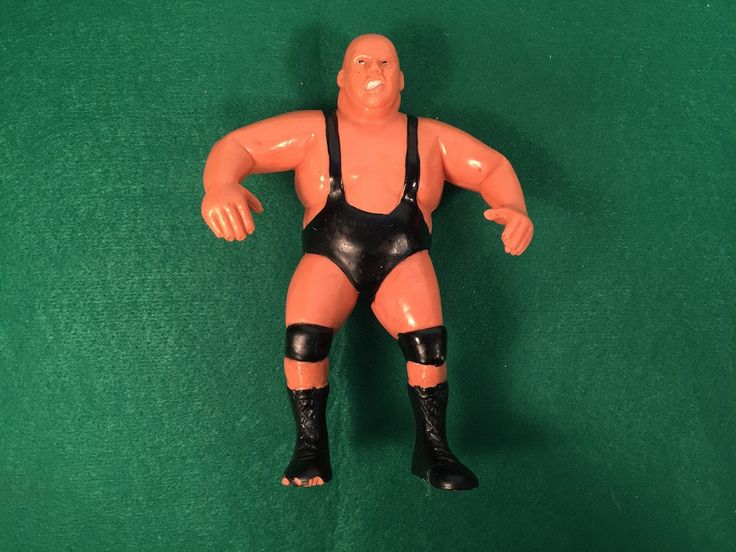 "Vintage Wrestling Doll 1985 ""King Kong Bundy"" LJN Series #2 Action Figure Wwe WWF WCW by ABarnFullofToys on Etsy"