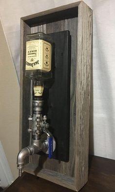 Wall Mount Liquor Dispenser by PRIMOBARS on Etsy