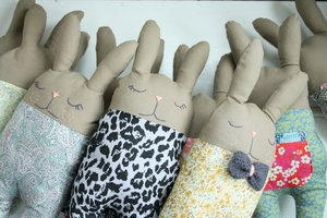Bunny softies #22€