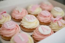 christening cupcakes - Google Search