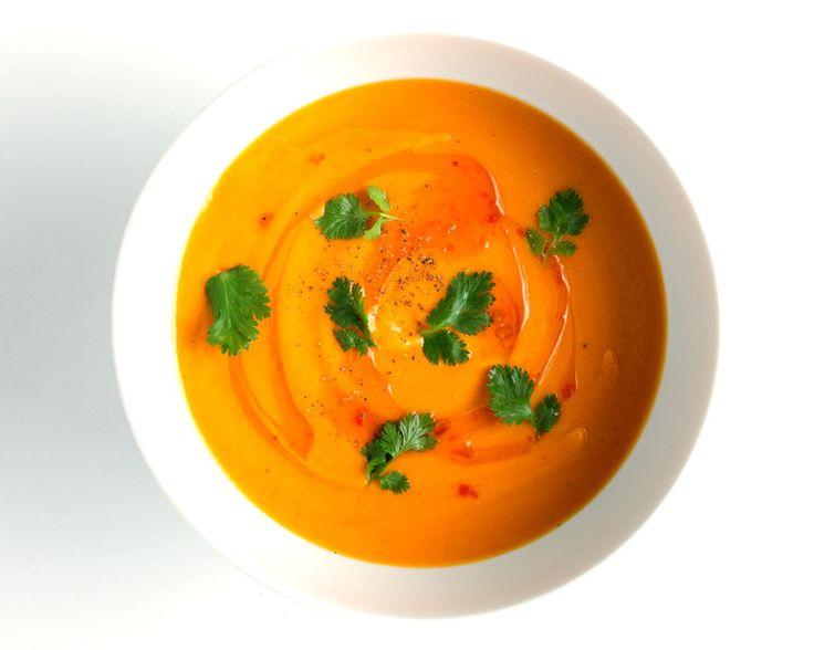 Carrot-Coconut Soup