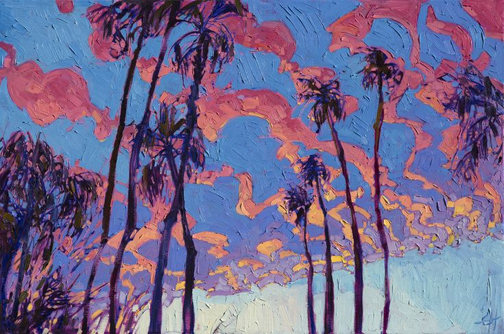 Oil Landscapes by Erin Hanson