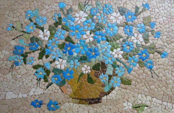 Мозаика из яичной скорлупы.. Обсуждение на LiveInternet - Российский Сервис Онлайн-Дневников