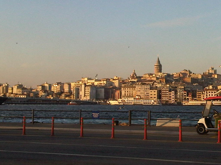 Galata Tower from Sirkeci